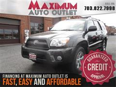 2008 TOYOTA 4RUNNER Limited 4WD with Navigation