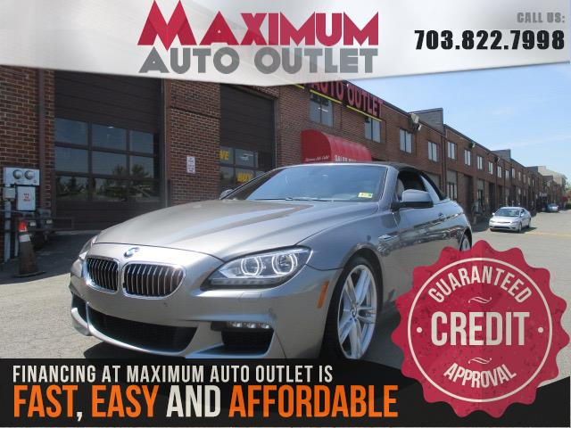2014 BMW 6 SERIES 640i M-Sport Convertible