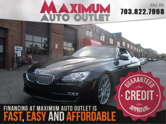 2012 BMW 6 SERIES 650I SPORT CONVERTIBLE
