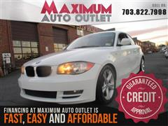 2011 BMW 1 SERIES 128i Sport Package