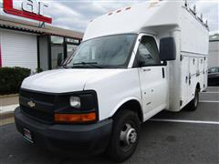 2007 CHEVROLET EXPRESS COMMERCIAL CUTAWAY DRW