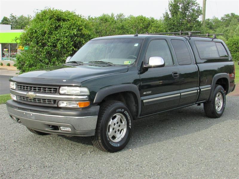 2002 CHEVROLET SILVERADO 1500 LT Z71