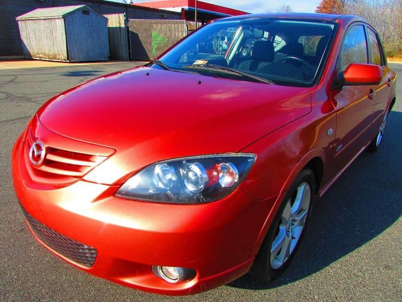 2004 MAZDA MAZDA3 2.3 S Sedan