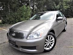 2009 INFINITI G37 SEDAN X AWD