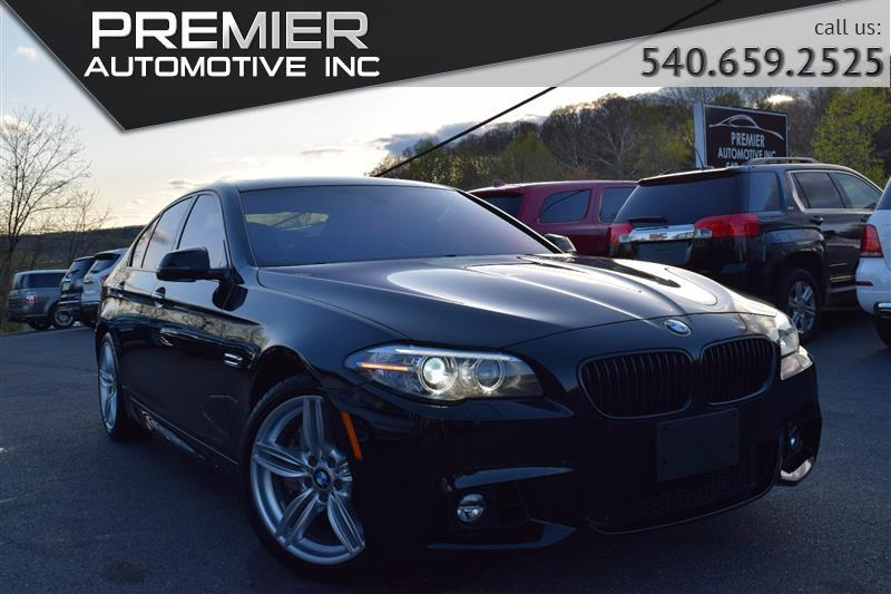 2015 BMW 5 SERIES 550i xDrive M SPORT