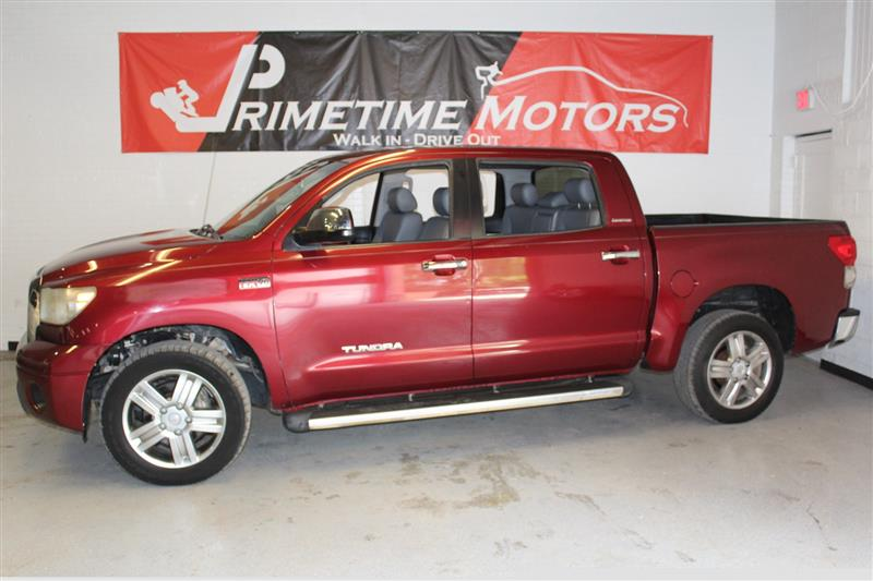 2007 TOYOTA TUNDRA LIMITED CREWMAX