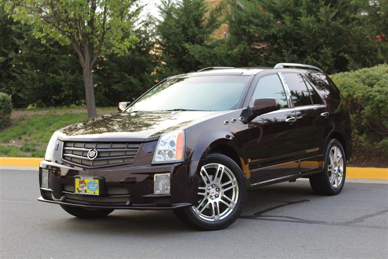 2008 CADILLAC SRX Luxury AWD