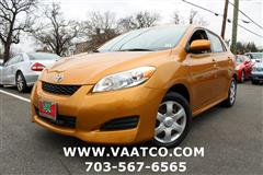 2009 TOYOTA MATRIX S -- 5 SPEED MANAUL