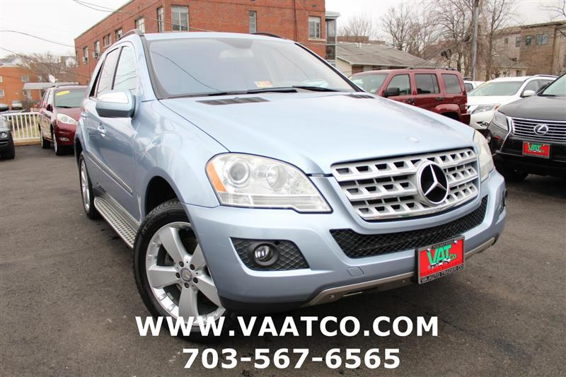 2009 MERCEDES-BENZ M-CLASS ML 350 AWD with NAV