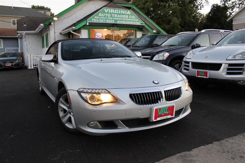 2008 BMW 6 SERIES 650i CONVERTIBLE